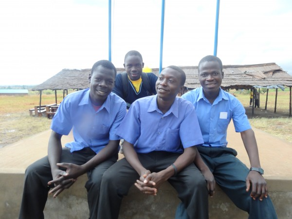 These young men are the future of Uganda. Maybe one of them will be president some day.
